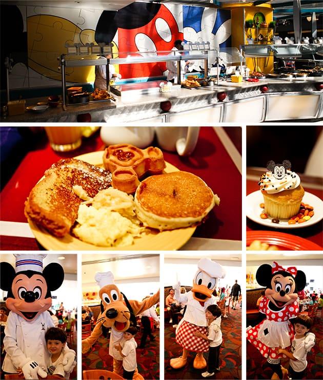 Aniversário de 4 anos na Disney