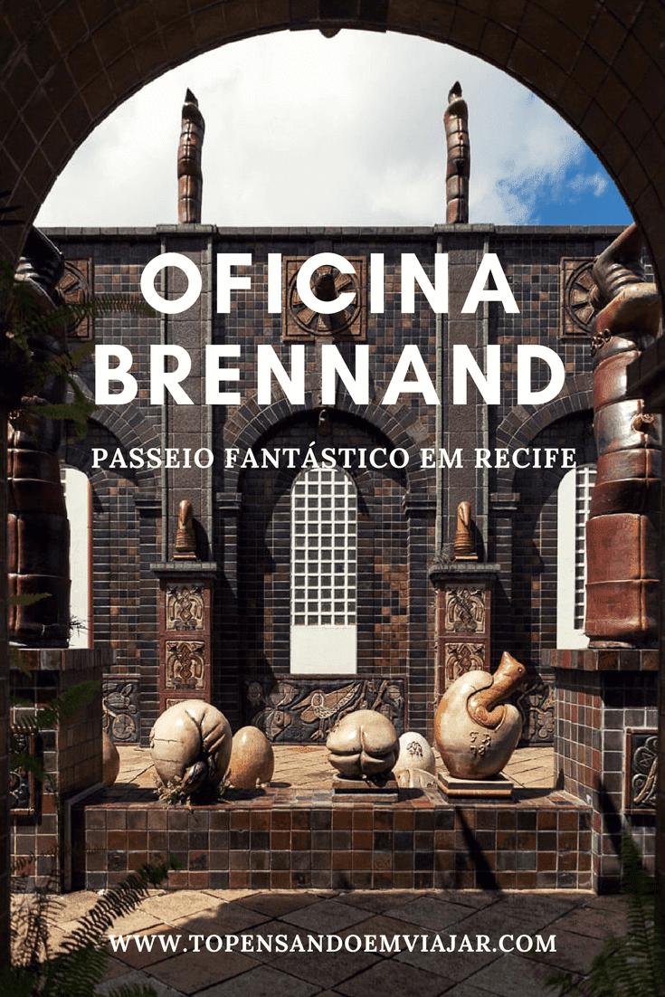 Visite a fantástica Oficina Brennand em Recife e conheça o fantástico mundo de Francisco Brennand, um dos grandes artistas brasileiros. Mesmo que você tenha pouco tempo na cidade, explorar esse lugar mágico, ruínas da antiga fábrica de Cerâmica São João é pedida certa. Pode apostar!