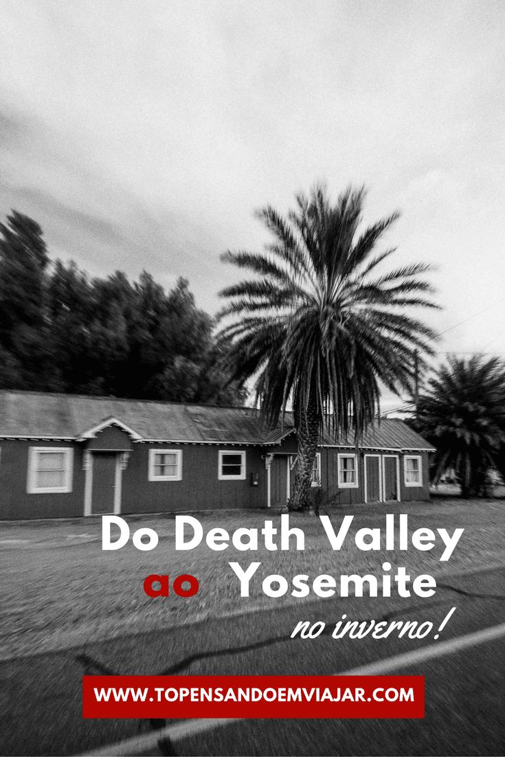 Vamos continuar nossa viagem de carro pela Califórnia, percorrendo o visual alucinante do caminho do Death Valley ao Yosemite no inverno. Saiba como foi a nossa viagem e encontre dicas e inspiração para viajar melhor por um dos estados mais lindos dos Estados Unidos.