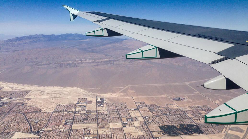 de passagem por Las Vegas