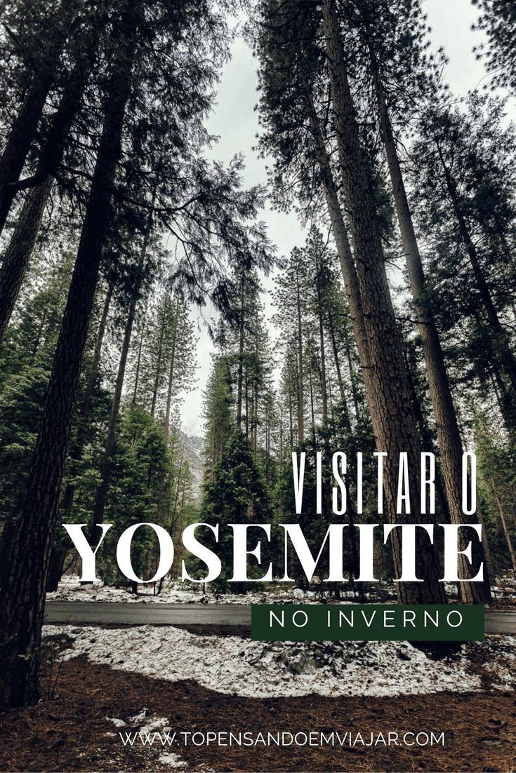 Saiba mais sobre como é visitar o Yosemite no inverno. Conhecemos o Yosemite National Park, na Califórnia com muita neve e ficamos encantada com a poesia e a grandiosidade de um dos lugares mais especiais dos Estados Unidos.