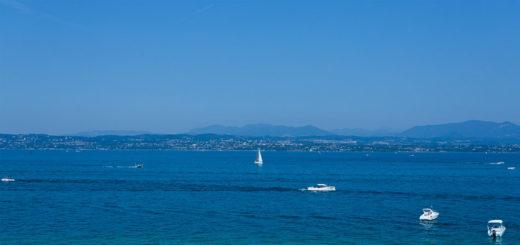 Lago di Garda, na Itália