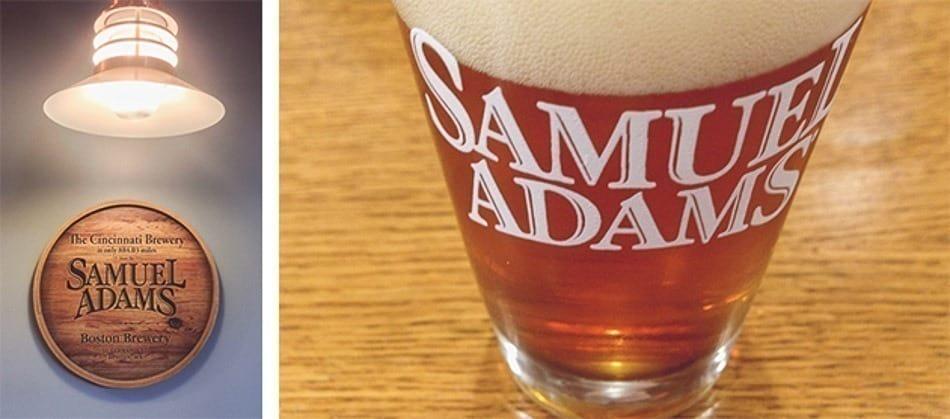 Degustação na cervejaria Samuel Adams em Boston