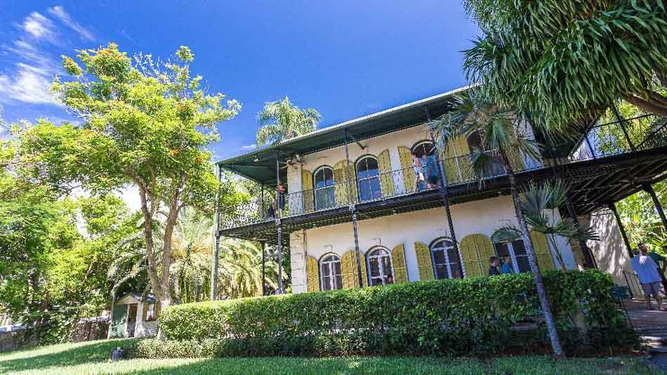 Dica do que fazer em Key West: visitar a Hemingway House