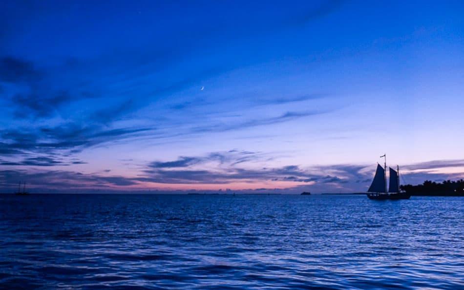 Pôr do sol: uma das dicas de o que fazer em Key West