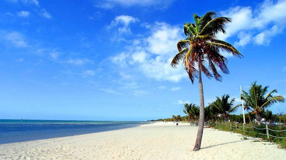 Smathers Beach, uma das melhores praias de Key West
