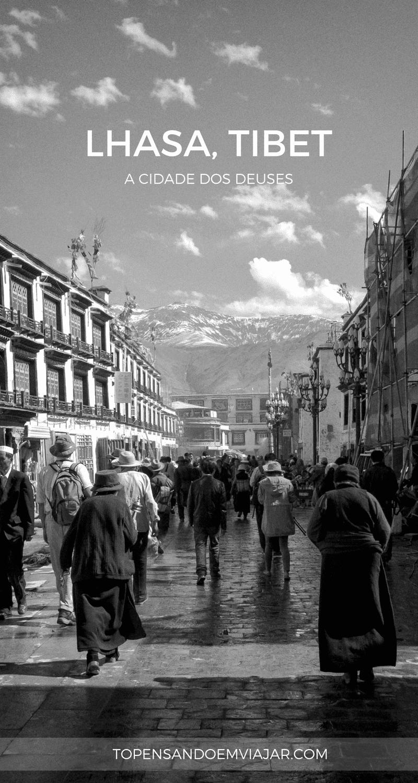 Lhasa, no Tibet