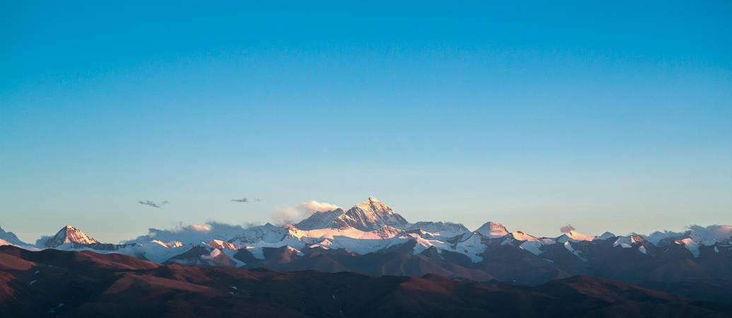Himalayas, no Tibet