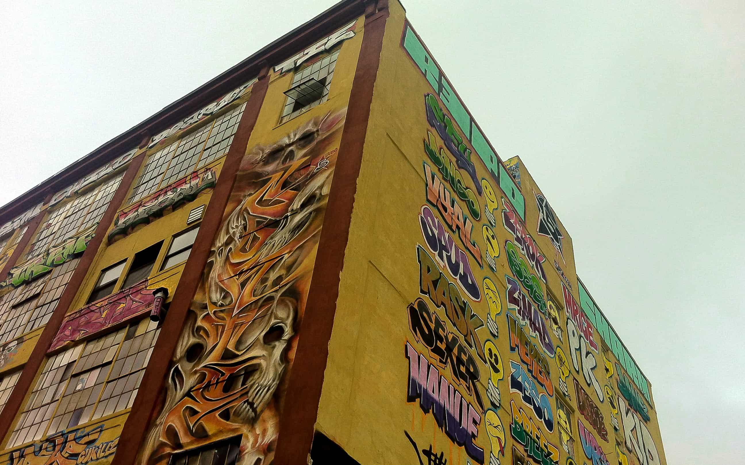 5Pointz, a 'Meca do grafitti' em Nova York