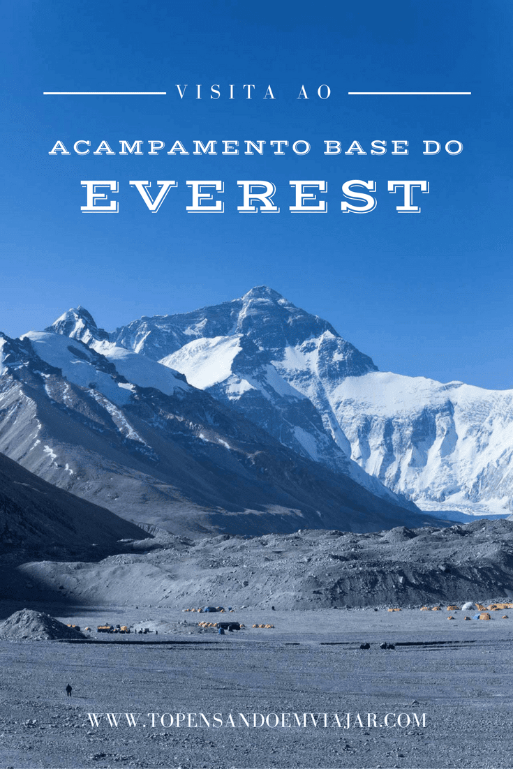 Acampamento base do Everest