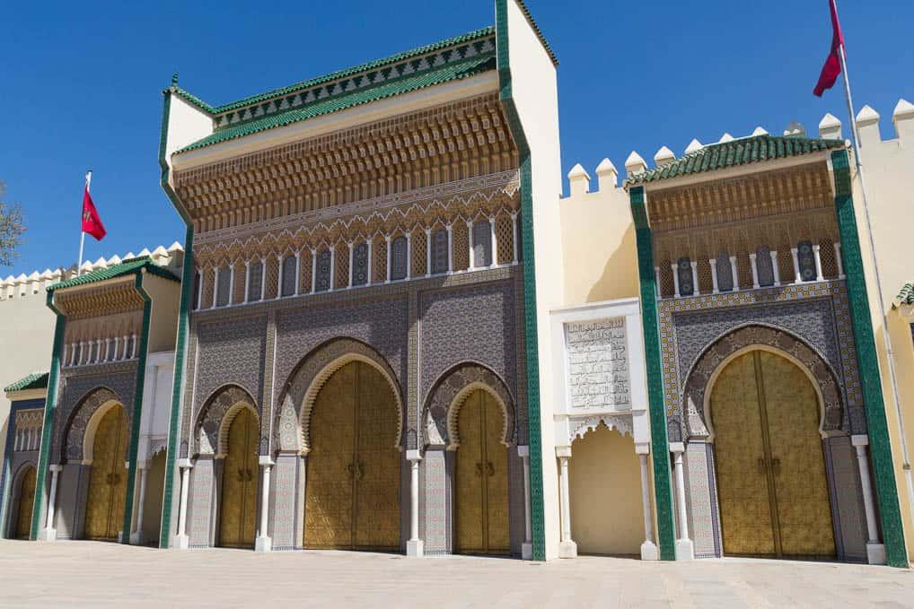 Palácio Dar Ek-Makhzen, em Fès, no Marrocos