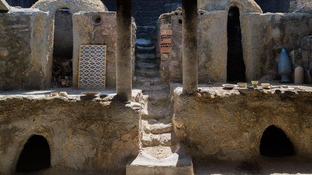 forno para cerâmica, Fès, Marrocos