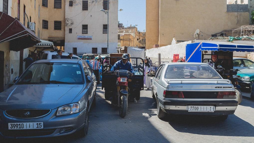 Entrada da medina de Fès, no Marrocos