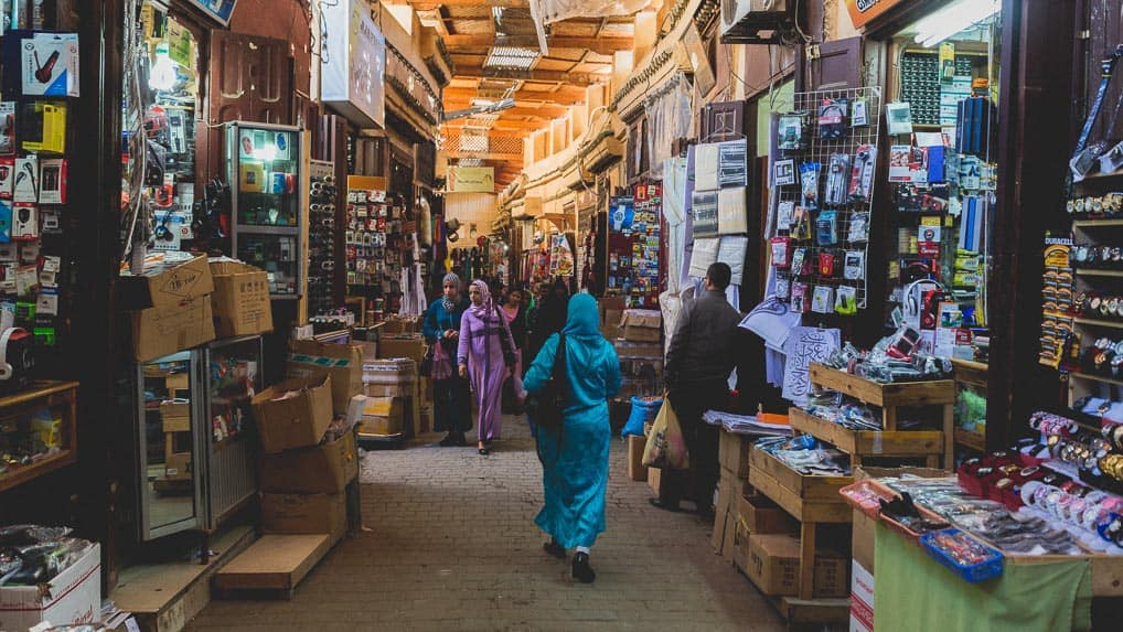 Medina de Fès no Marrocos