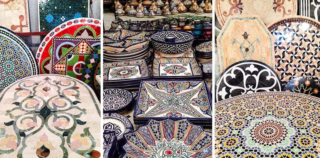 Cerâmica, Fès, Marrocos