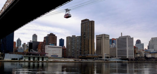 Roosevelt Island Tram em NYC