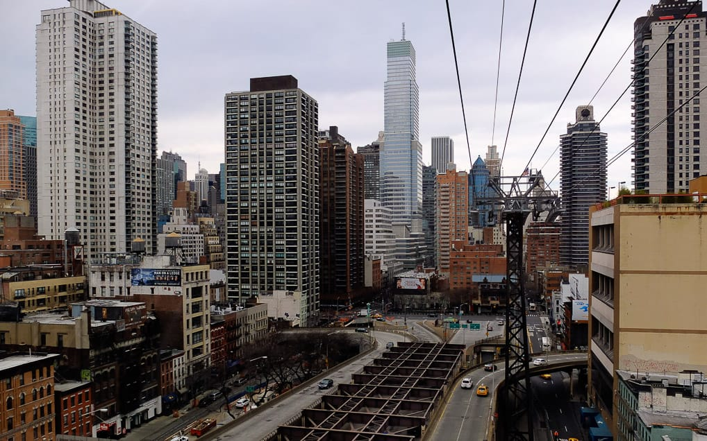 Roosevel Island Tram em NYC