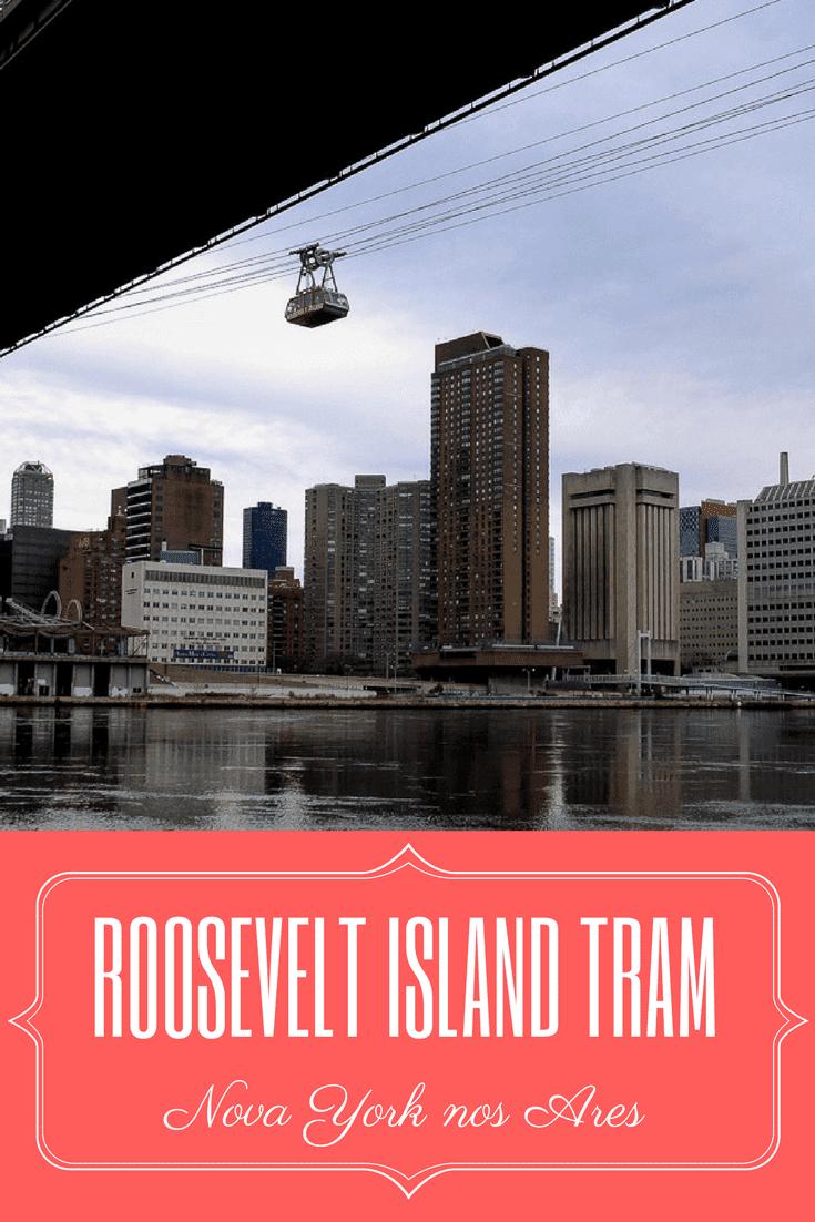 Roosevelt Island Tram: Teleférico em NYC
