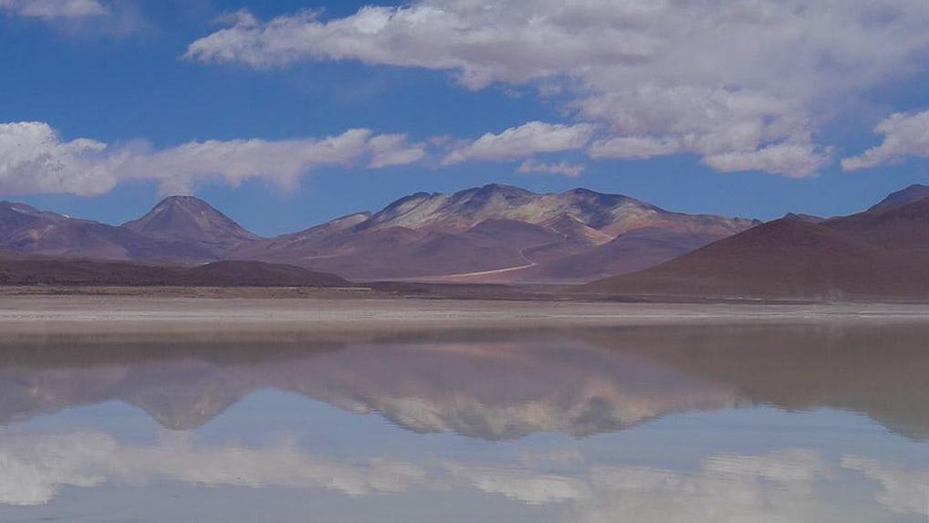 Salar do Uyuni, na Bolívia