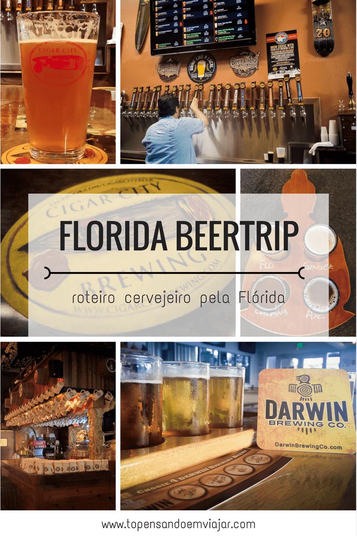 Roteiro cervejeiro na Flórida