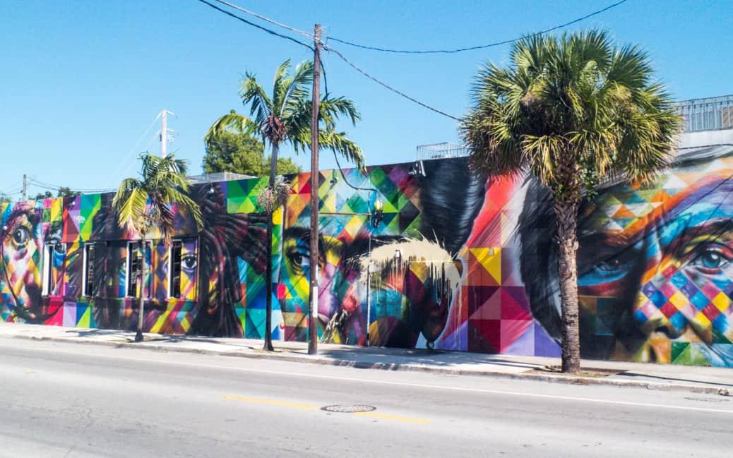 5 Artistas Brasileiros em Wynwood