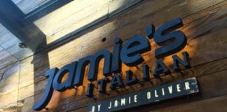 Restaurante Jamie's Italian em São Paulo