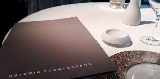 Menu degustação na Osteria Francescana