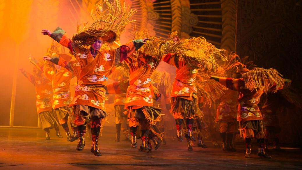 Lhamo, tradicional ópera tibetana