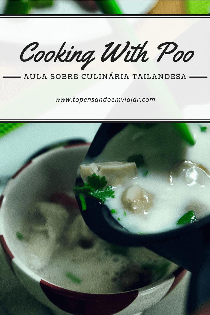 aula sobre culinária tailandesa