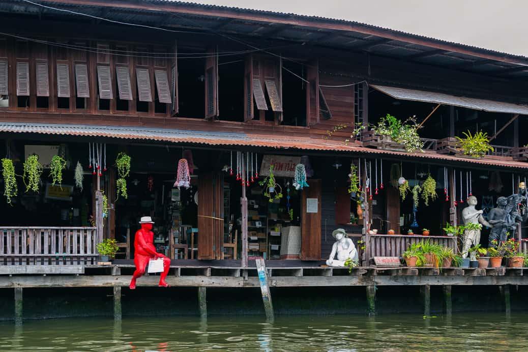Canais de Thonburi