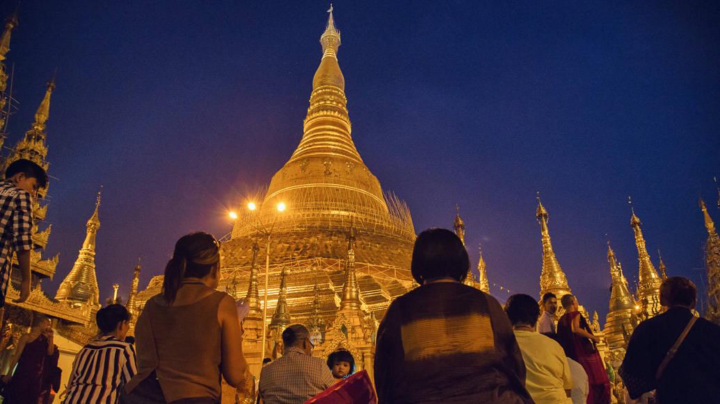 8 dias em Myanmar