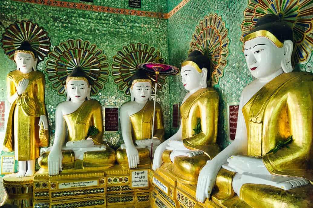 mandalay-myanmar-buddhas