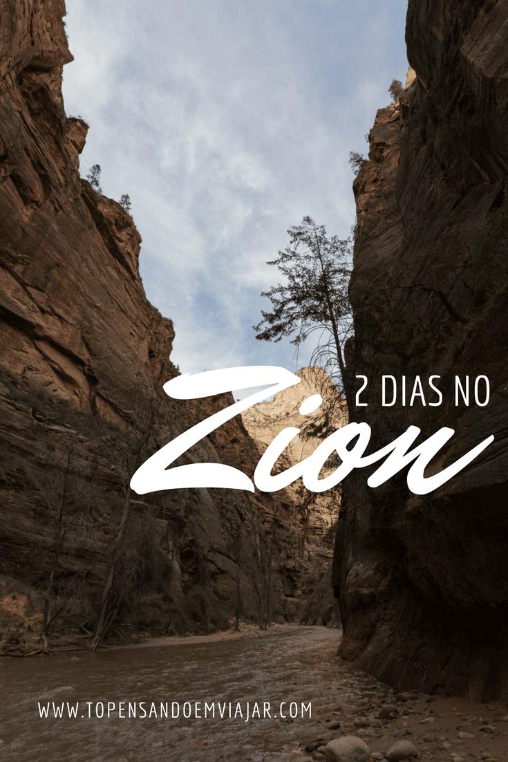 2 dias no Zion