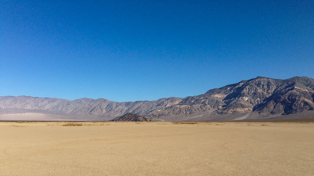 Do Death Valley ao Yosemite no inverno