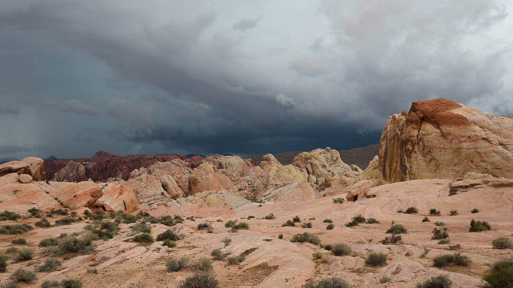 Valley of fire em Nevada