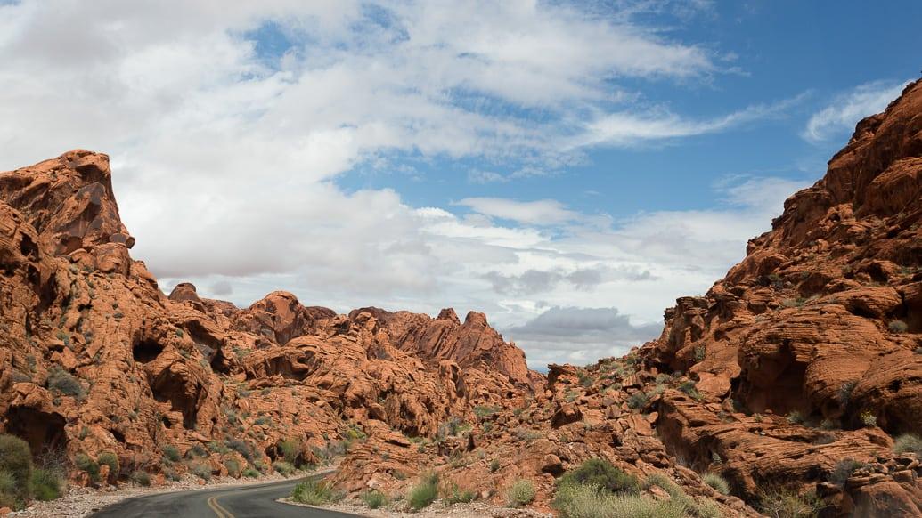 Valley of fire em Nevada