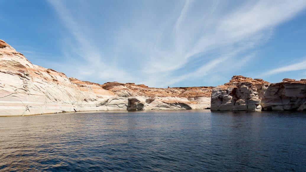 Passeio de barco no Antelope Canyon