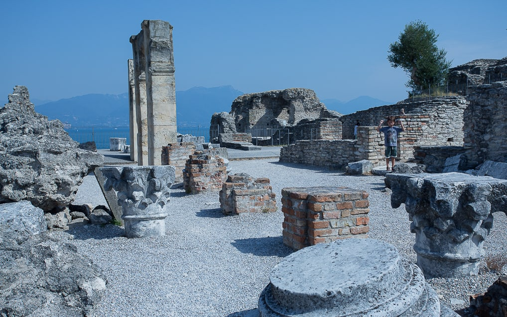 Sirmione, no Lago di Garda