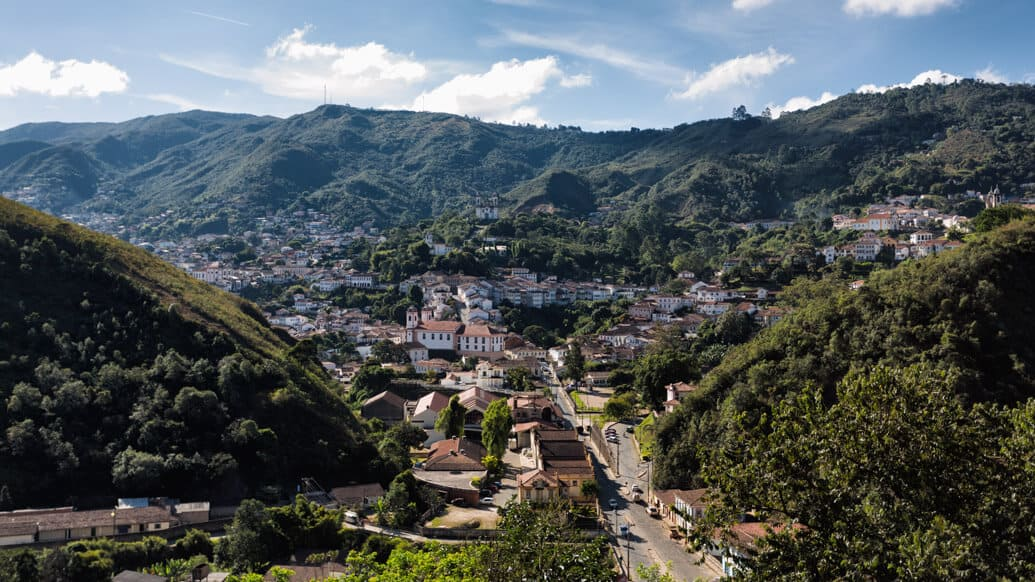 Os melhores mirantes de Ouro Preto para ver a cidade do alto