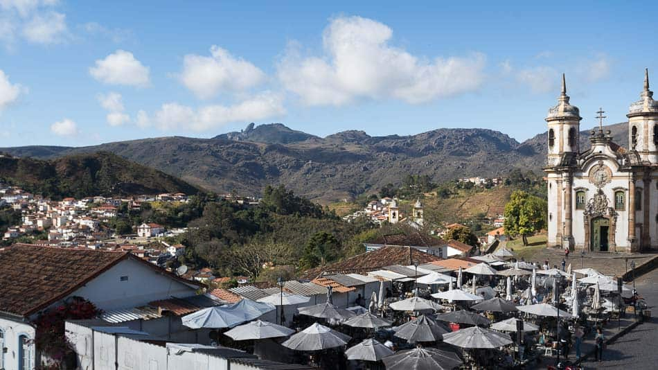 Mirantes em Ouro Preto: Casa de Tomas Antônio Gonzaga