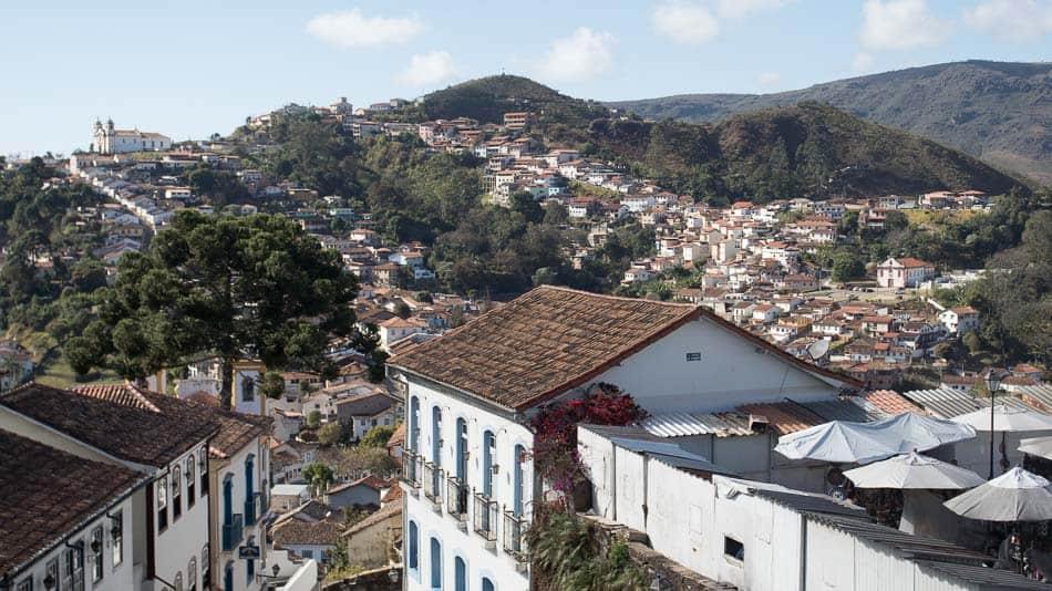 Mirantes em Ouro Preto: vista da casa de Tomas Antônio Gonzaga