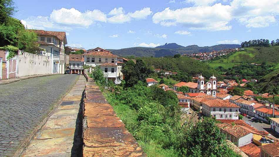 Mirantes em Ouro Preto: Rua Getúlio Vargas