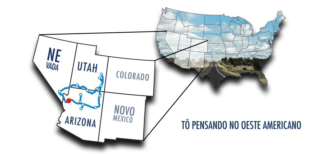 De Las Vegas ao Grand Canyon