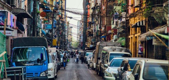 onde se hospedar em Yangon