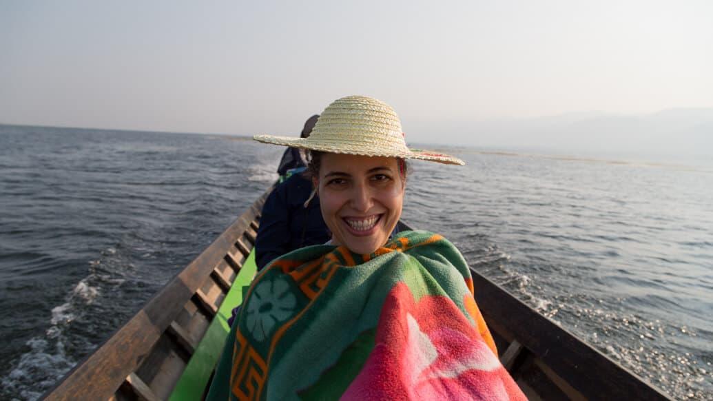 Lago Inle em Myanmar