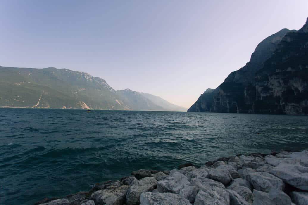 azul do Lago di Garda