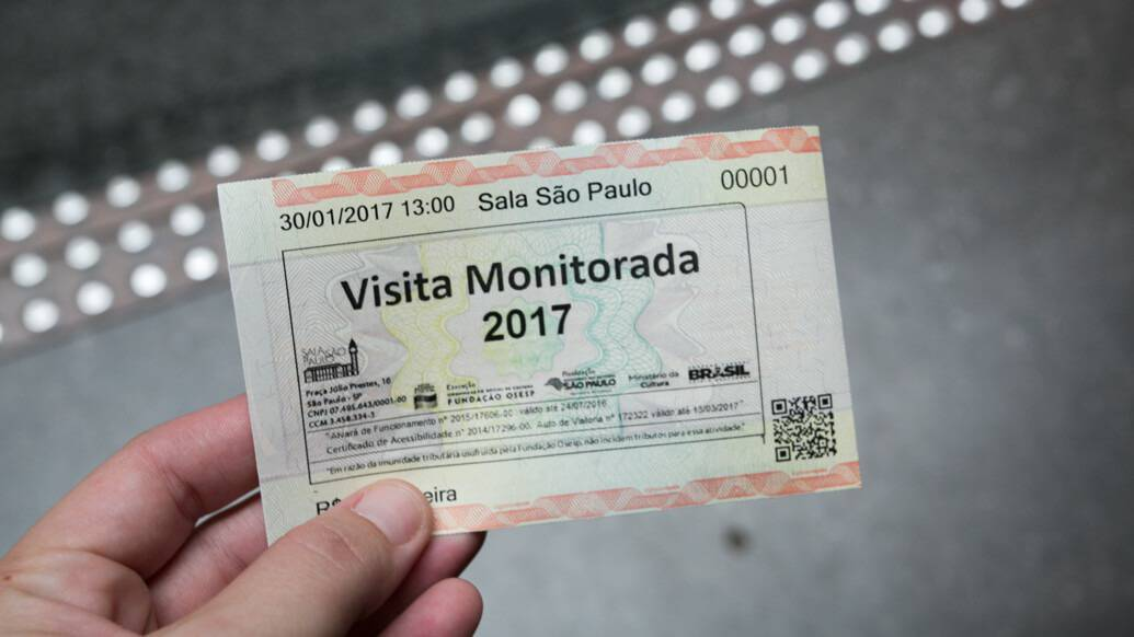 Visita guiada à Sala São Paulo