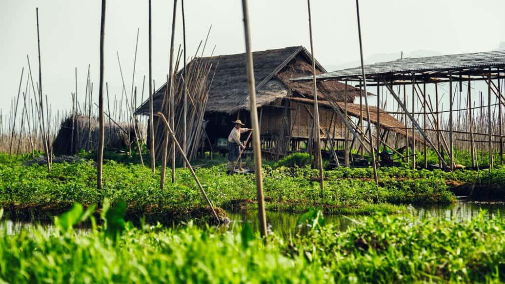 Lago Inle, em Myanmar