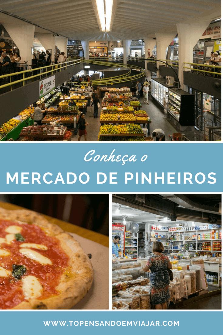 Mercado de Pinheiros em SP