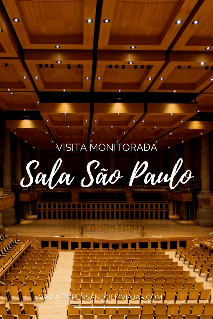 Visita monitorada à Sala São Paulo